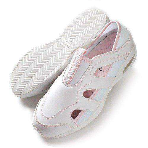 Blanc Ange (블랑 앤젤레스) Blanc 맞는 2 간호사 신발 여성 피곤 통기성 운동화 핑크 복숭아
