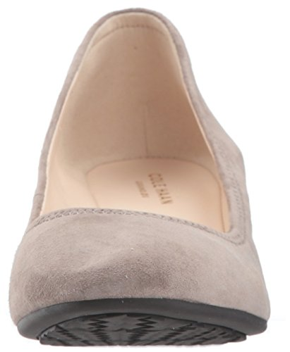 Cole Haan Dames Sadie Sleehak 40 Mm Pump Rock Suede