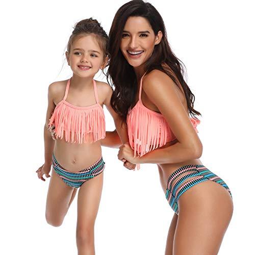 Damen Tankini Set Bikini Strand Sommer Badeanzug Bademode Übergröße Schwimmanzug