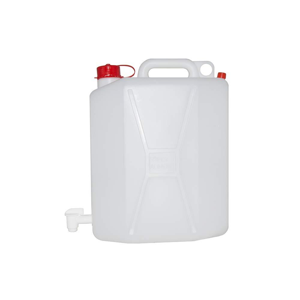 WURKO 044111 Bidon plastico con grifo 20l.blanco