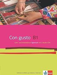 Con gusto / Lehr- und Arbeitsbuch mit 2 Audio-CDs - B1