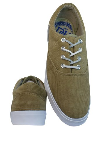 Nicholas Deakins Bakare Mens Corduroy Schuhe Sneaker / Schuh - Beige