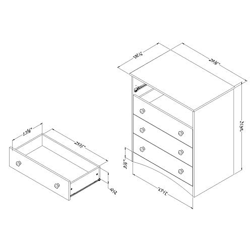 South Shore Drawer Chest,