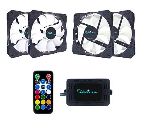 Apevia FrostBlade 57.67 CFM 120 mm Fans 4-Pack