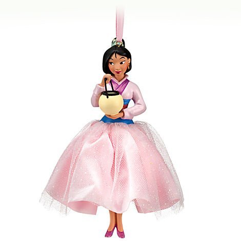 Disney Princess Mulan 'Holiday dynasty!' Sketchbook Ornament