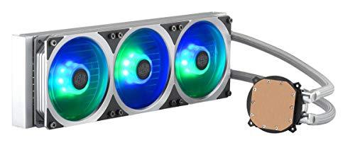 Cooler Master MasterLiquid ML360P Silver Edition ARGB 45 CFM Liquid CPU Cooler