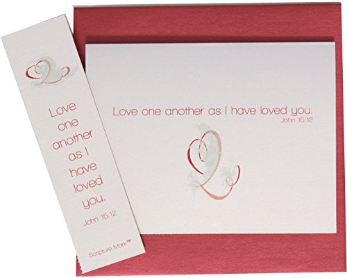 Love One Another Bookmarks (He Speaks Today Love One Another Note Card Set)