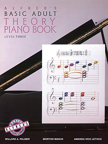 Alfred's Basic Adult Theory Piano Book, Level 3 ()