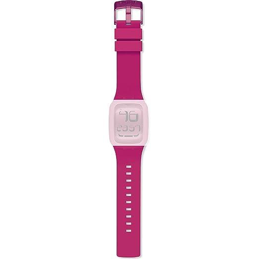 "Correa para reloj de pulsera Digital Touch original de Swatch, ""Swatch Touch Pink"""
