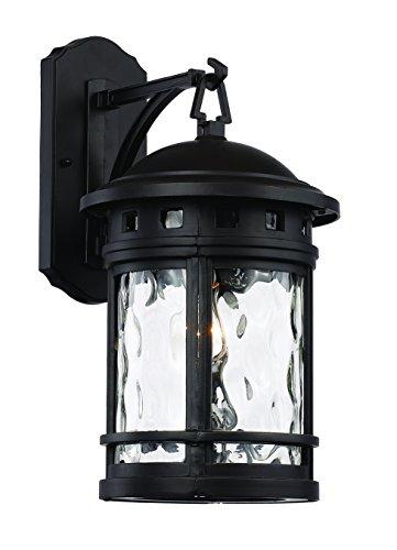 Trans Globe Lighting 40371 BK Outdoor Boardwalk 16.25'' Wall Lantern, Black by Trans Globe Lighting
