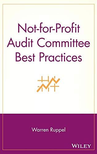 Not-for-Profit Audit Committee Best Practices (Board Development Best Practices)