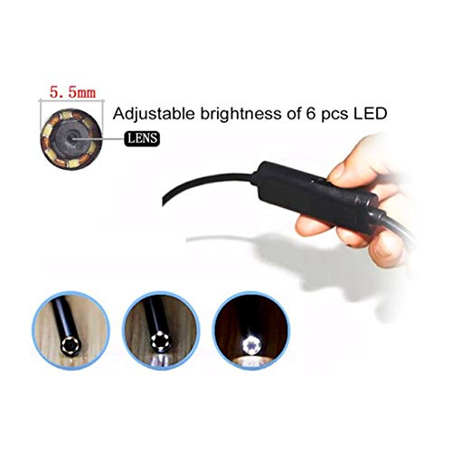Medical Endoscope 0.3MP High Definition Inspection Snake Tube Pipe Camera for Visible Ear Cleaning for Laptop Phone by Detectoy (Image #4)