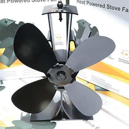 BINGHONG3 Ventilador de 4 aspas para Estufa, Resistente al Calor ...