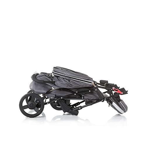 Chiplino Kinderwagen Buggy Mixie, klappbar, schwenkbare Vorderräder, Sonnendach lila lila