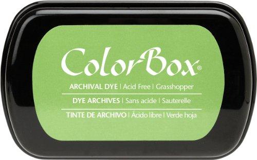 ColorBox Archival Dye Ink Full Size Inkpad, Grasshopper