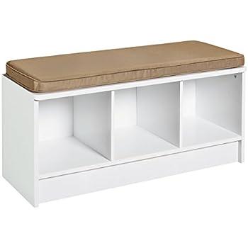 ClosetMaid 1569 Cubeicals 3-Cube Storage Bench, White