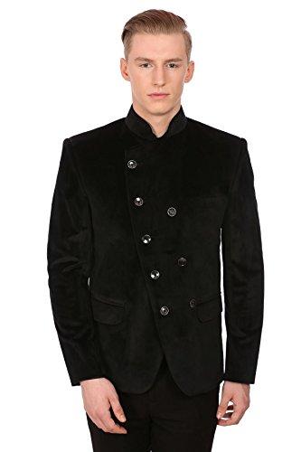 [해외]윈타지 남성 벨벳 그랜다드 칼라 세레머니 블레이저 - 7가지 색상 / WINTAGE Men`s Velvet Grandad Collar Ceremony Blazer - Seven Colors