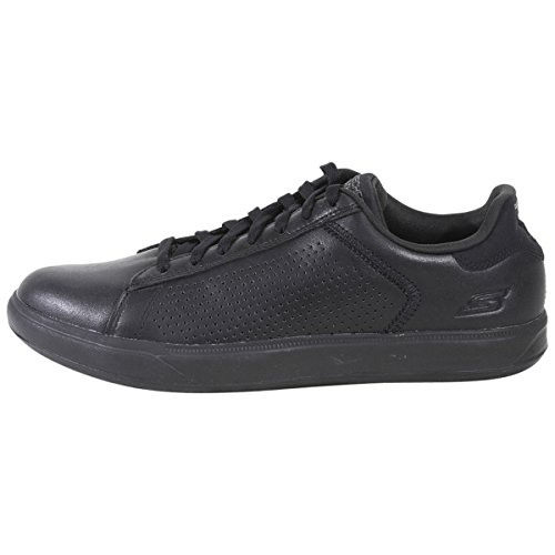 Skechers Performance Mens Go Vulc 2 Grandeur Fashion Sneaker Nero