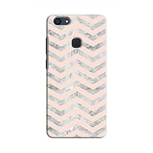 Cover It Up - Silver Pink Tri Stripes V7 Plus Hard case