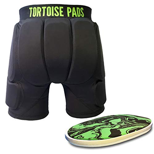 Tortoise Pads T2 High Impact Protection Padded Shorts with Dual Density EVA Foam (Adult X-Large)