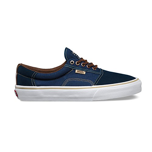 Vans Rowley Solos Skate Shoe - Mens Dress Blues/Brown, 8.5 -
