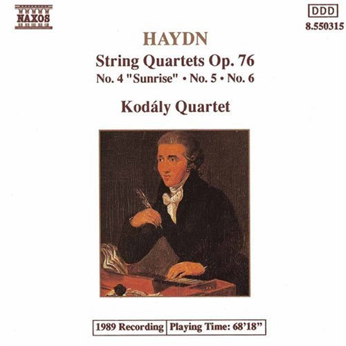 Haydn: String Quartets, Op. 76, Nos. 4, 5 and 6 Six Haydn String