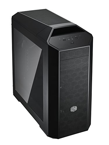 MasterCase Pro 5 Mid-Tower Case with FreeForm Modular System, Window Side Panel, Top Mesh Cover, and Watercooling