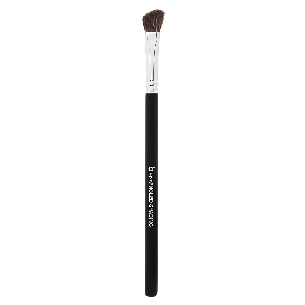 Angled Shading Eyeshadow Makeup Brush - Eye Brow Bone Highlighter, Small Soft Natural Slanted Angle Bristle for Highlighting Eyebrows, Shading, Blending Shadow Color in Crease, Highlight Inner Eyes: Beauty