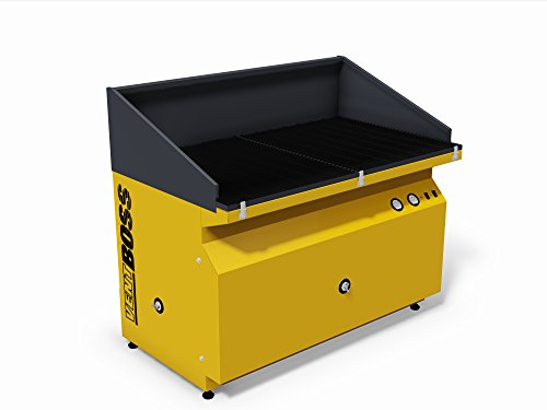 VentBoss S211 Dual Downdraft Table Fume Extractor, 2560 ()