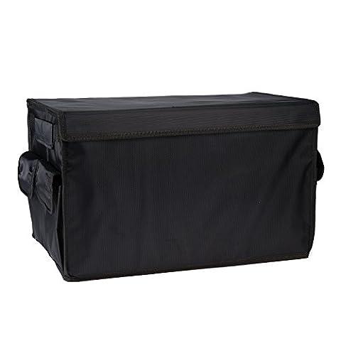 Autvivid Trunk Organizer Cargo Storage Waterproof Oxford Cloth for SUV Car Truck Travel Vocation Trip Camping Household (Sub Cargo Organizer)