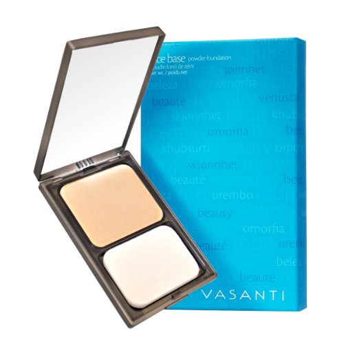 Vasanti Face Base Powder Foundation with Mineral Pigments -...