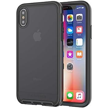 buy popular 1539f e032a Amazon.com: tech21 - Evo Check Case for iPhone X - Smokey/Black ...
