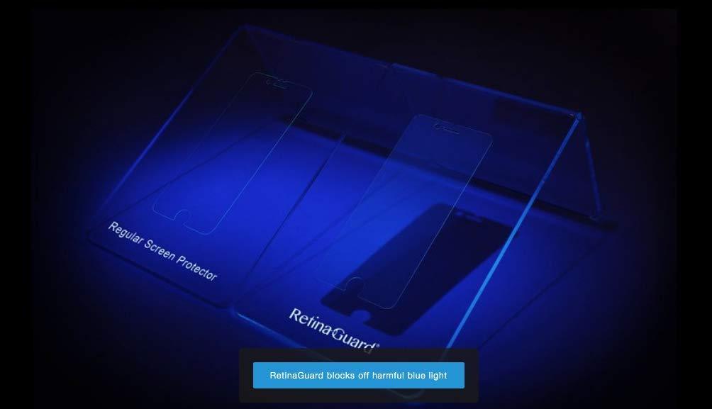 Anti-blue Light Screen protector for iMac21.5 RetinaGuard Anti-UV
