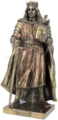 11 King Arthur Medieval Knight Collectible Statue Figurine Crusader Armor Sword