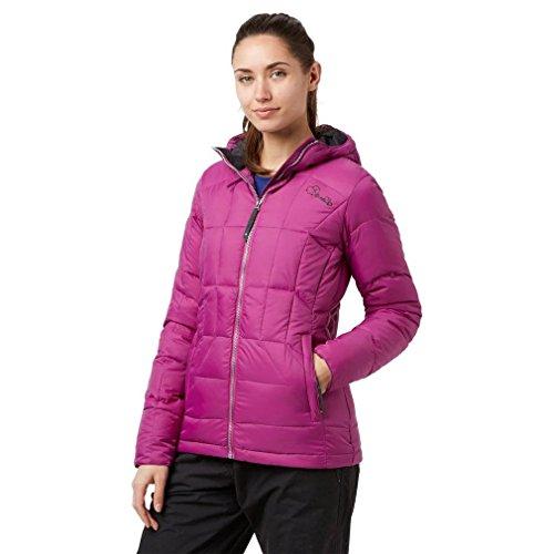 DARE 2B Women's Fulfilled Down Jacket, Purple, (Dare Down Jacket)