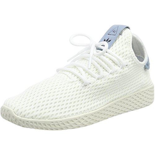 b2f123091 adidas Originals Pharrell Williams Tennis Hu White Blue Textile 4 M US Big  Kid