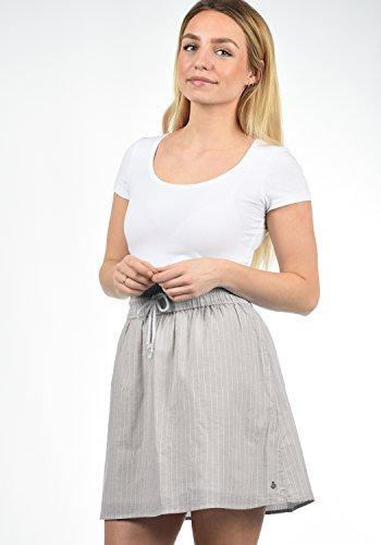 BlendShe Femme Stripe 20058 Gray Anno Jupe Opal T1wfqTBrE