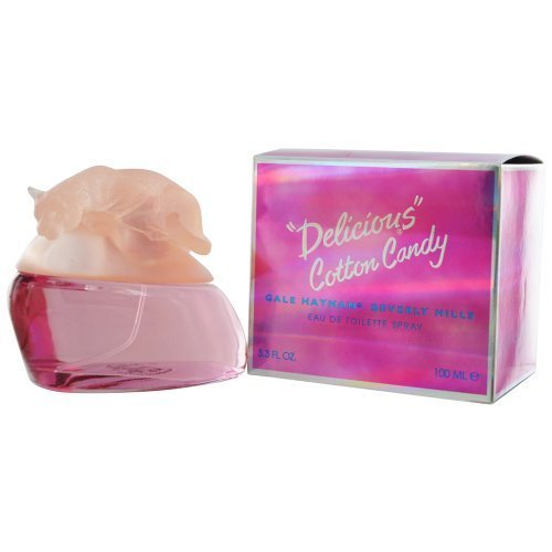 Delicious Edt (Delicious Cotton Candy by Gale Hayman 100ml 3.3oz EDT Spray by Gale Hayman)
