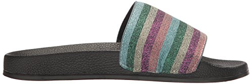 L Life Flat LFL Sandal Multi for Lust Bright Cabana by Women's qq6XFH