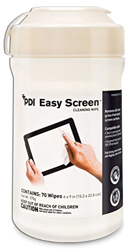 Easy Wipe - PDI Easy Screen Cleaning Wipe Touchscreen Cleaner 6