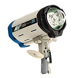 JTL Versalight D-301 Monolight, 300 Watt Second Digitally Controlled Strobe.