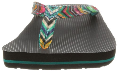 Sanuk Funk Marítimo Mujer Flip Flop Peacock Multi