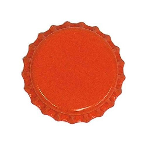orange beer bottle caps - 4
