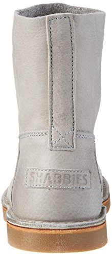 Shabbies Amsterdam Shabbies Halbschaft Schlupfstiefel, Zapatillas de Estar por Casa para Mujer gris (Light gris)
