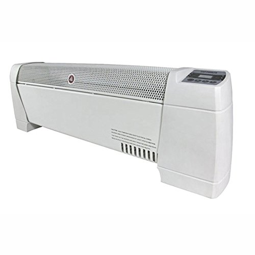 Optimus Electric 30'' Baseboard Convection Heater w/Digital Display and Thermostat, HEOP3603 by Optimus
