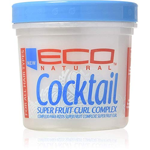 ECOCO Eco Cocktail Super Fruit Curl Complex Styling Creme, 16 oz Pack of 3