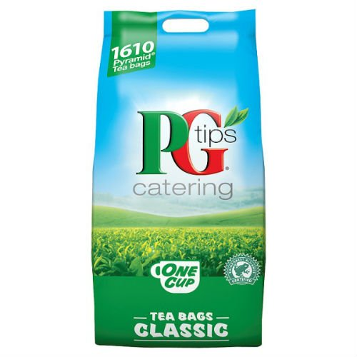 PG Tips 1610 One Cup Standard Catering Tea Bags Case Of 2 by PG Tips