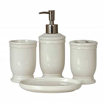 Delightful Badezimmer  Set Keramik Nostalgie