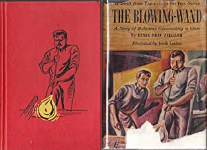 Hardcover The blowing-wand;: A story of Bohemian glassmaking in Ohio (Land of the free series) Book