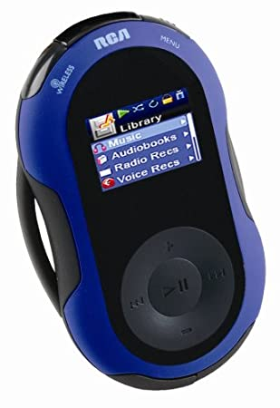 RCA S2501 Jet Stream serie 1 GB Deporte Reproductor de MP3 con auriculares inalámbricos: Amazon.es: Electrónica